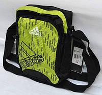 Салатовая сумочка adidas