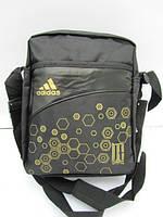 Сумка Adidas через плечо золотые шестигранники