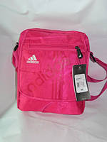 Женская розовая сумочка через плечо