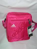 Женская спортивная сумка розовая Adidas