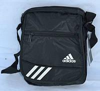 Черная сумка Adidas через плечо