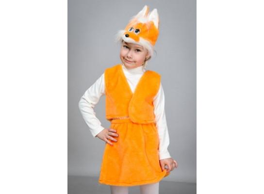 Детский Карнавальный Костюм Лисичка 342-3233102 — в Категории ... 3d380fd87c649