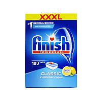 Таблетки для посудомоечных машин Finish Powerball classic (Лимон) 100 шт