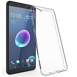 Прозрачный Чехол HTC Desire 12 (ультратонкий силиконовый) (НТС Дизаер 12)