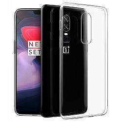 Прозрачный Чехол OnePlus 6 (ультратонкий силиконовый) (Ван Оне Плас Плюс 6)