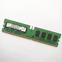 Оперативная память Hynix DDR2 2Gb 800MHz PC2 6400U CL6 (HYMP125U64CP8-S6 AB) Б/У