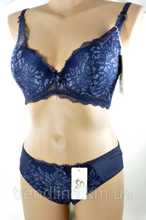Комплект C Weiyesi № 1896 Серо-синий