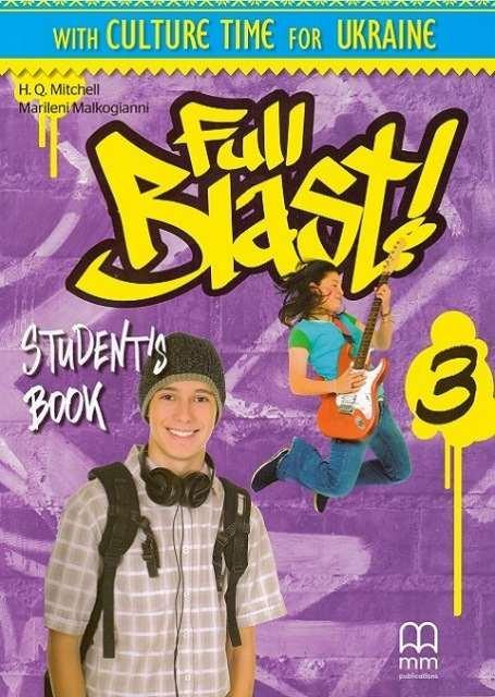 Full Blast! 3 Student's Book Ukrainian Edition