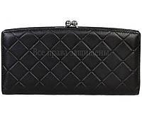 27d31dcbdeb9 Эксклюзивный женский кожаный большой кошелек черного цвета Marco Coverna