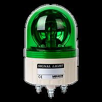 ASGB-20-G Проблесковый маяк (зеленый + сирена, 86 мм, 220VAC)