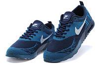 Мужские кроссовки Nike Air Max Thea Flyknit  синие