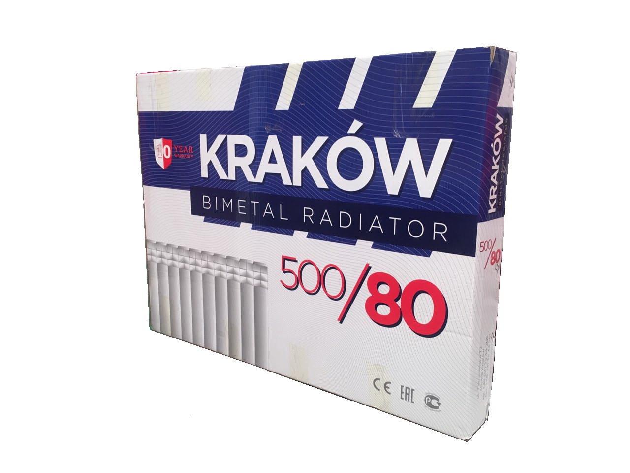 Биметаллический радиатор Krakow.Радиаторы для квартиры.