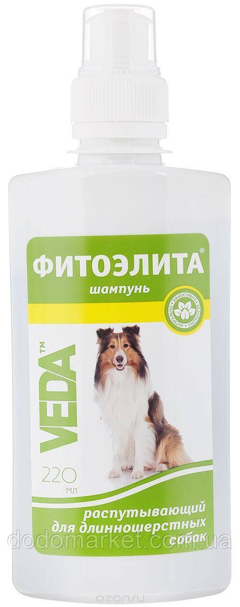 Фитоэлита шампунь для длинношерстных собак распутывающий 220 мл