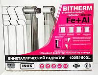 Биметаллический радиатор Bitherm Evro 500*100*80, фото 1
