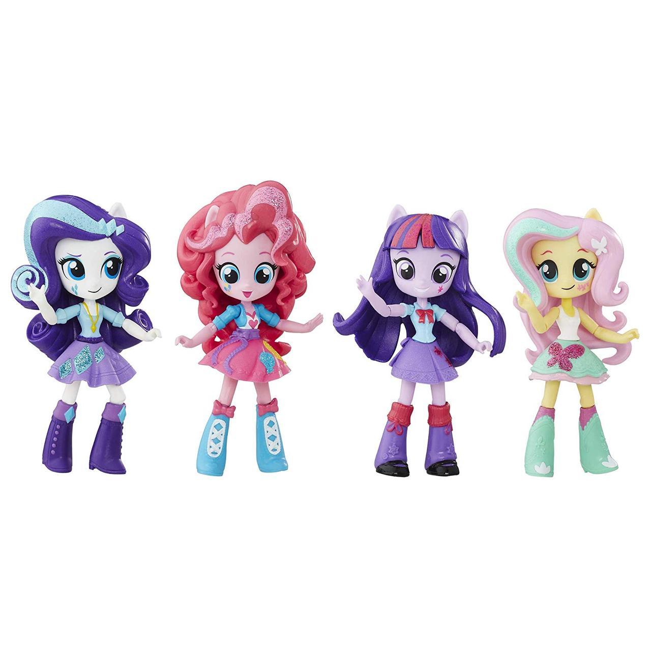 Куклы Май Литл Пони Глитерные Твайлайт Спаркл, Рарити, Пинки Пай, Флаттершай My Little Pony