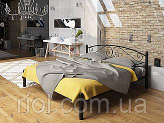 Металлическая двуспальная кровать Виола ТМ Тенеро