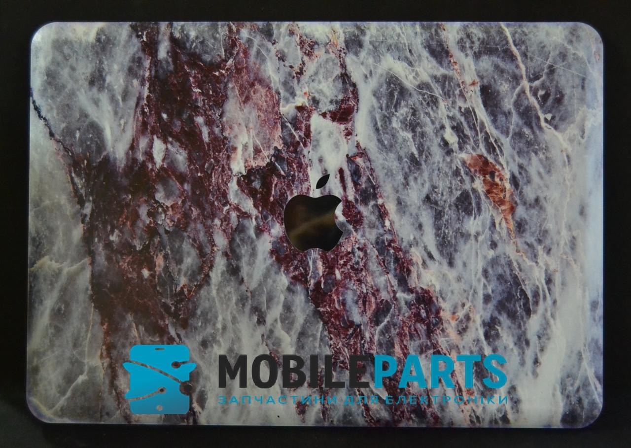 Пластиковый Чехол-накладка для Apple MacBook Air 13 (325*227мм) (Серо-голубой)