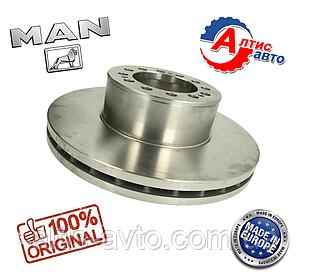 Гальмівний диск передній Man міст (432х45мм)