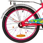 Детский велосипед Formula Flower 20 дюймов розовый, фото 6