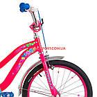 Детский велосипед Formula Flower 20 дюймов розовый, фото 4