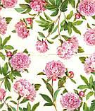 Декупажная салфетка Розовые пионы 4161, фото 2