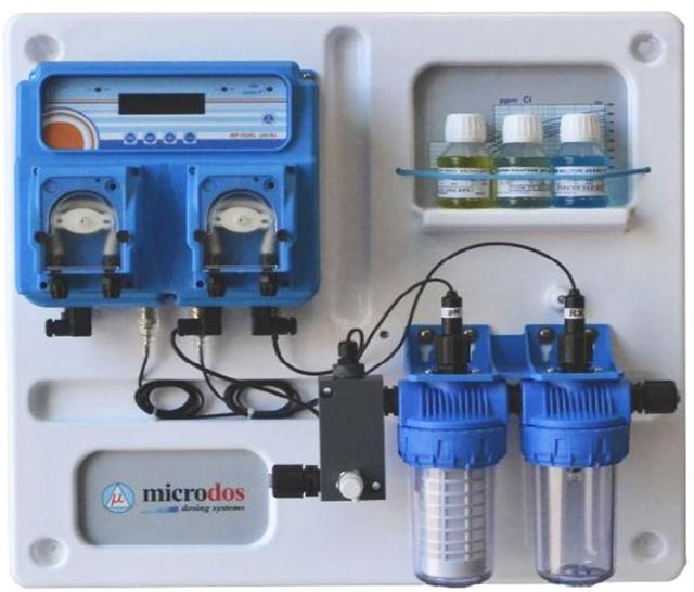Станция дозирования для бассейна Microdos MP Dual pH – Rх