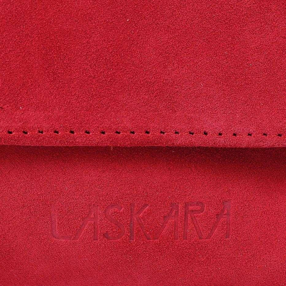 70ae3e5b611a Замшевая сумка-клатч LASKARA LK-DD220A-red, цена 2 297 грн., купить в Киеве  — Prom.ua (ID#862717383)