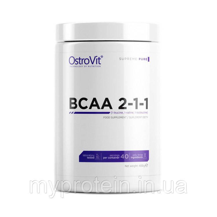 BCAA OstroVit BCAA 2-1-1 400 g pure