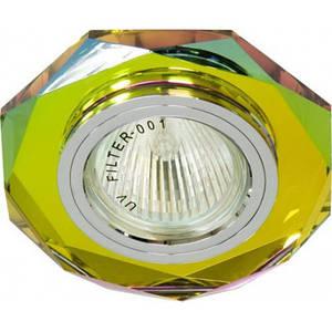 Точечный встраиваемый светильник Feron 8020-2 5-мультиколор