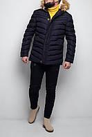 Куртка мужская зимняя синяя. Куртка чоловіча зимова.ТОП КАЧЕСТВО!!!, фото 1