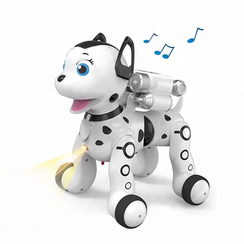 Інтерактивна іграшка AeiCheng My Lovely Puppy робот-собака на р/к з проектором Білий (SUN2988)