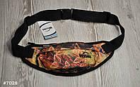 Поясная сумка Бананка Wions Autumn. Материал: плотная, водоустойчивая ткань Oxford 600D