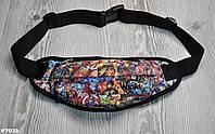 Поясная сумка Бананка Wions Marvel. Материал: плотная, водоустойчивая ткань Oxford 600D