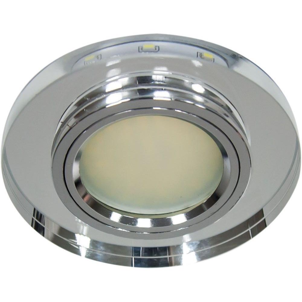 Точечный встраиваемый светильник Feron 8060-2 с LED подсветкой