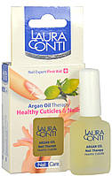 Питательное аргановое масло Laura Conti для  ломких и чувствительных ногтей