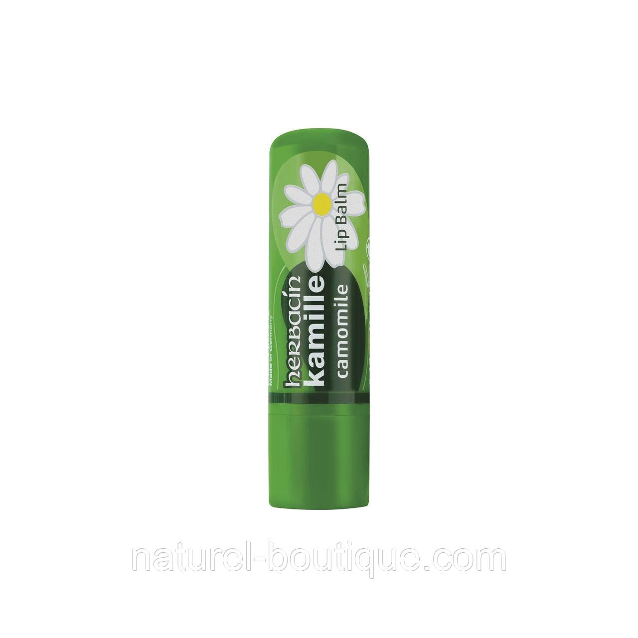 Бальзам для губ Herbacin kamille Ромашка