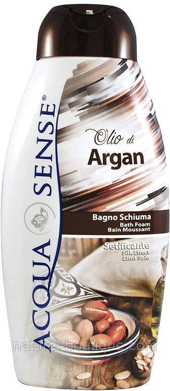 Пена для ванн Acquasense Аргановое масло 750 мл