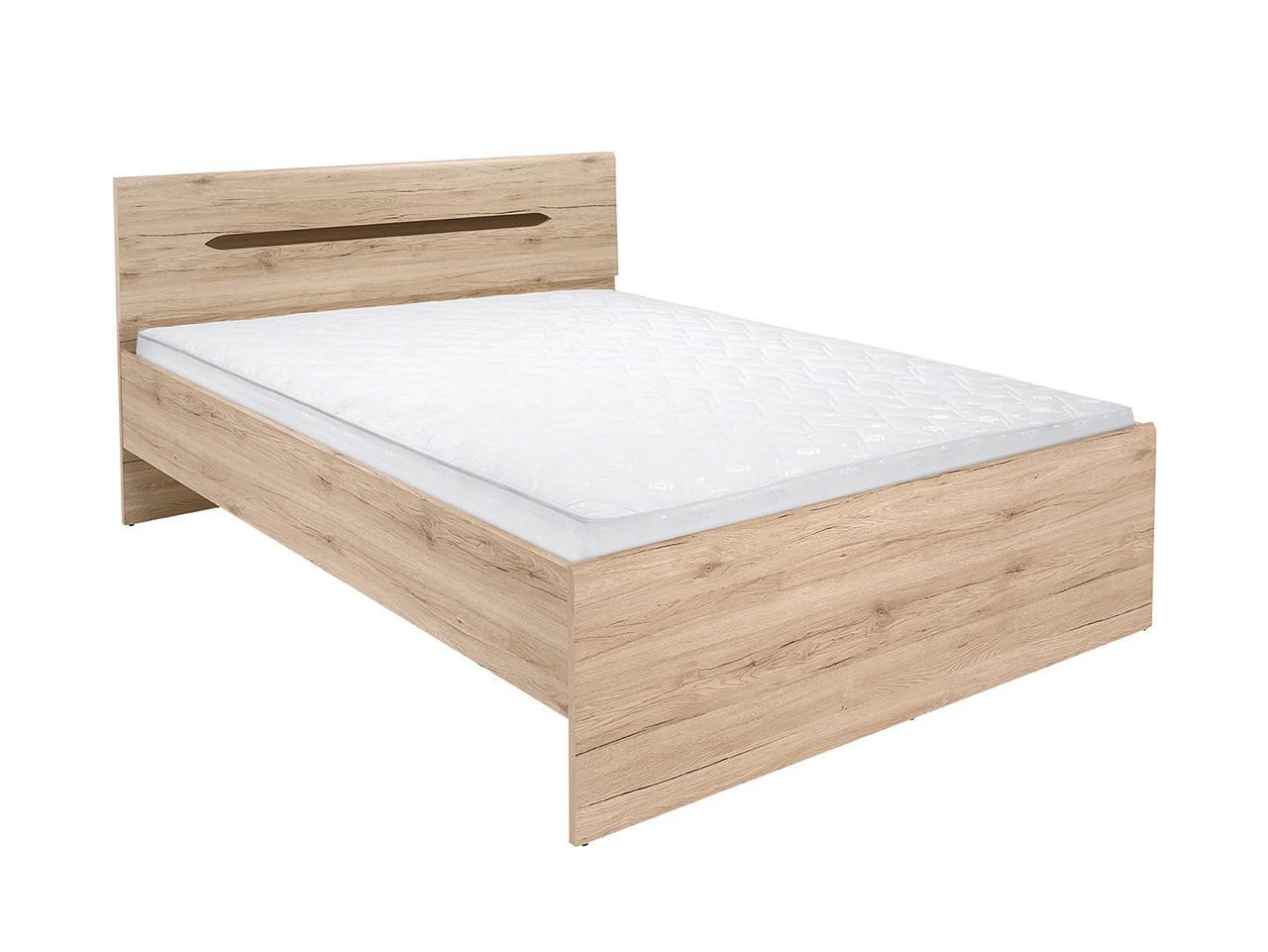Ліжко Elpasso LOZ/160_B (BRW)