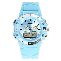 Skmei 0821 easy II голубые женские спортивные часы