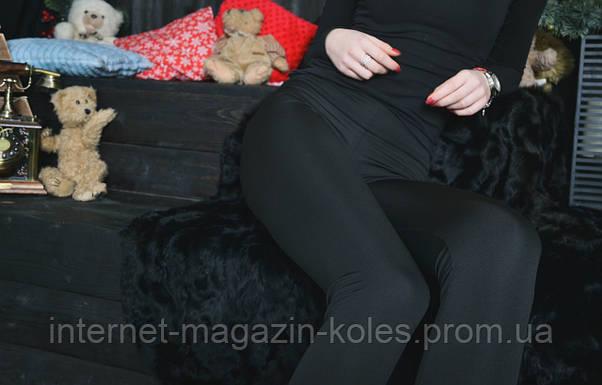 Классические женские черные лосины, фото 3