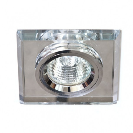 Точечный встраиваемый светильник Feron 8170-2 с LED подсветкой