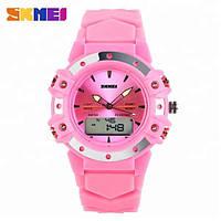 Skmei 0821 easy II розовые женские спортивные часы