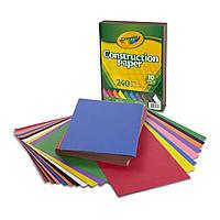 Набор цветной бумаги, в наборе 240 листов 10 цветов, Crayola (Крайола)