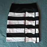 Атласная нарядная юбка, фото 2