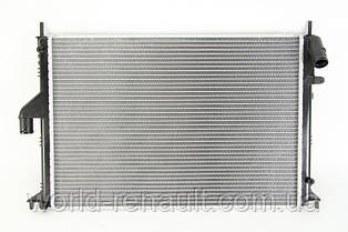 Радиатор системы охлаждения на Рено Логан, Логан MCV, Степвей 1.5dci, 1.6i 8V, 1.4i 8V / NISSENS 637612