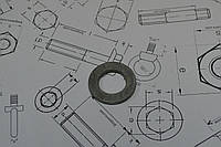 Шайба Ф22 к болтам высокой прочности EN 14399-6, фото 1