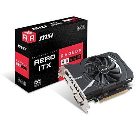 MSI PCI-Ex Radeon RX 560 Aero ITX OC 4GB GDDR5 (128bit)