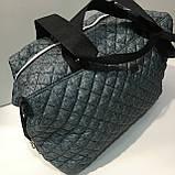 Брендовые спортивные сумки D&G (черный)28*39см, фото 3