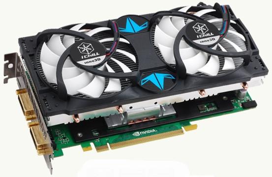 "Видеокарта Inno3D GeForce GTX460 i-Chill 1024 MB DDR5 (C460-1DDN-D5DWX) ""Over Stock"" Б/У"