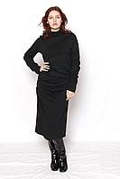 Платье Алина чёрное / сукня чорна ангора
